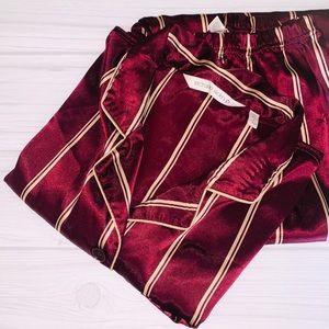 Victoria Secret 2Pc Satin Pajama Set